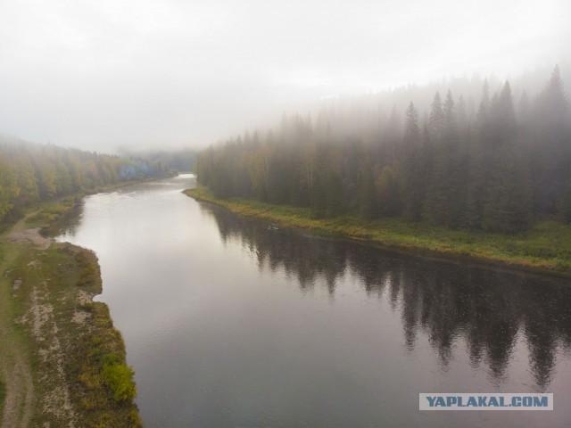 Молочные реки над Усьвой