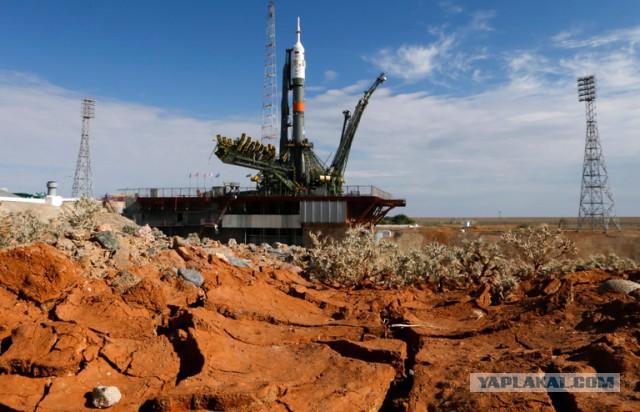 Старт «Союз ТМА-17М» к МКС: прямая трансляция