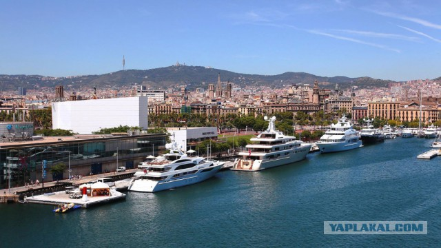 Вагит Алекперов купил паркинг для мегаяхт в центре Барселоны за $2 млрд, чтобы там не смогли пришвартоваться корабли НАТО