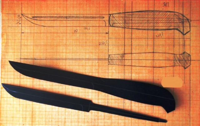 Как сделан финский нож