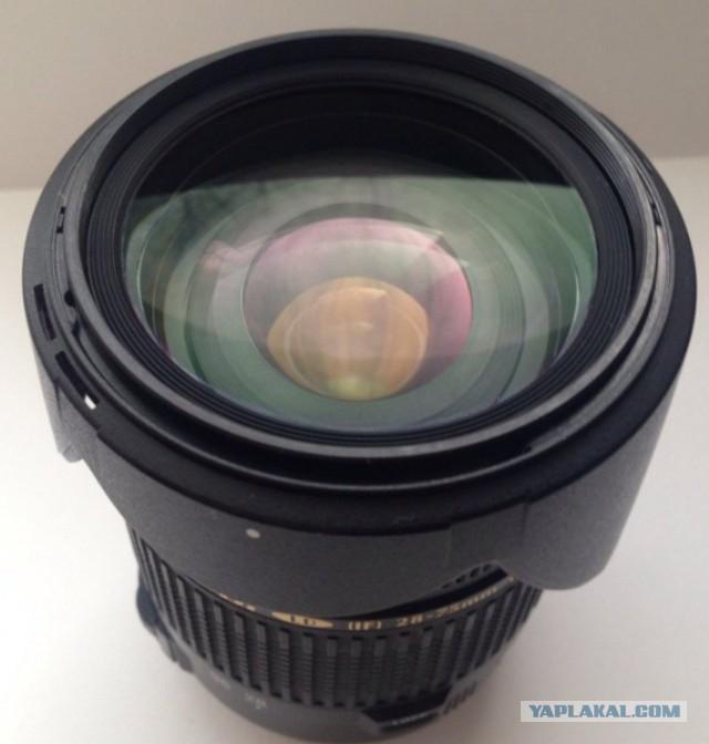 Светосильный зум на Canon 28-75 f 2.8, продажа Москва