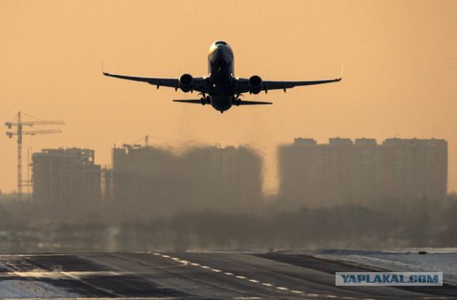 Лайнер с 240 пассажирами возвращается в Москву из-за трещины на стекле