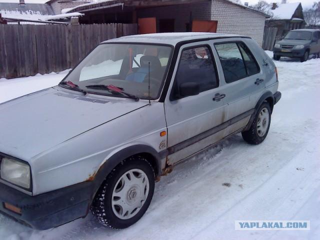 Продам друга, а точнее VW Golf