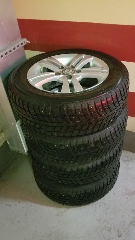 Комплект колес R15 195/65 от шкоды А5fl Москва, площадь Ильича