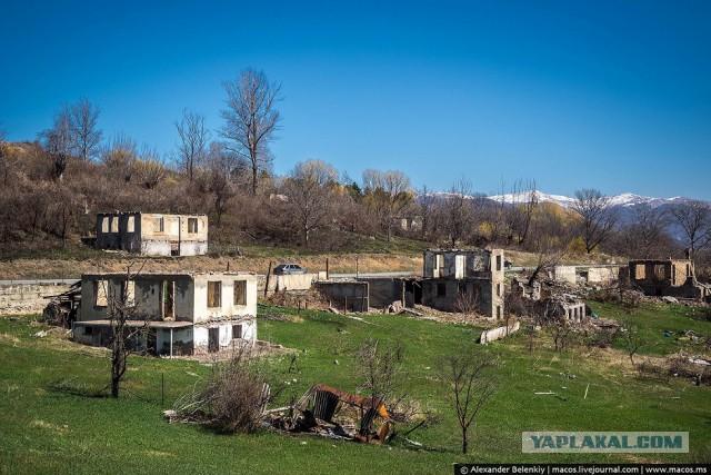 Остывший ад. Как выглядят разрушенные грузинские сёла в Южной Осетии