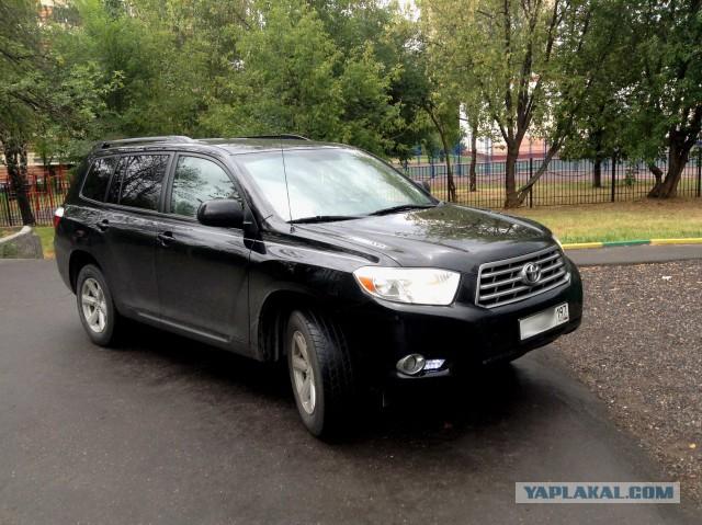 Toyota Highlander, 2009 г. Москва