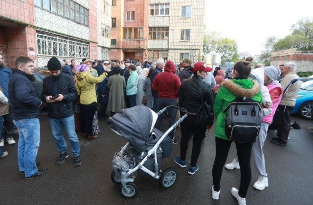 В Казани протестуют против строительства мечети.
