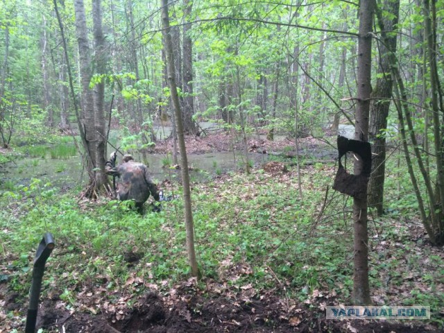 Как я выкопал в лесу пулемет