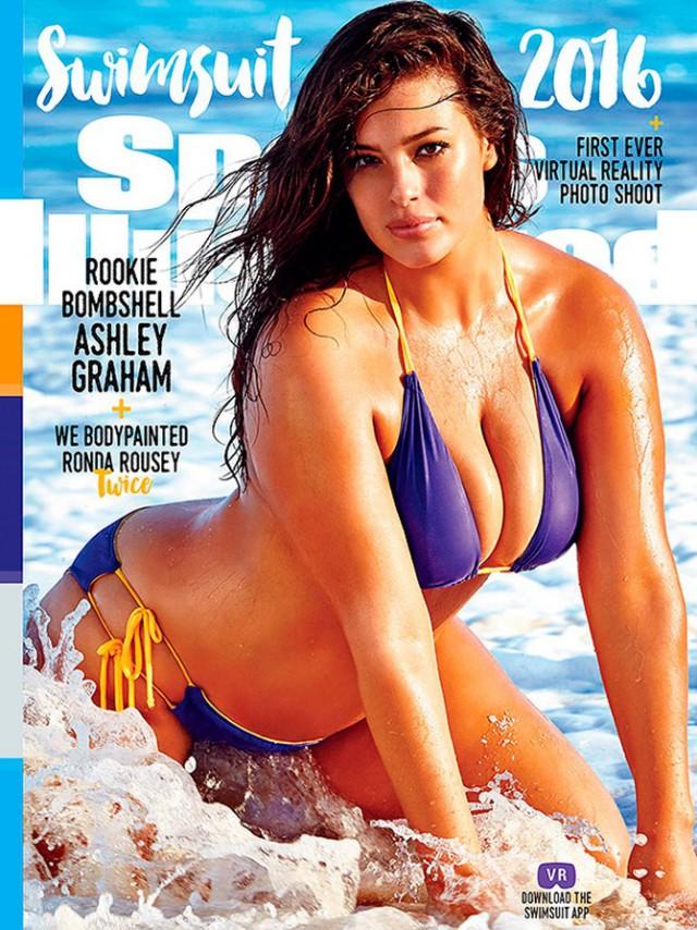 Впервые на обложке Sports Illustrated появилась модель плюс-сайз