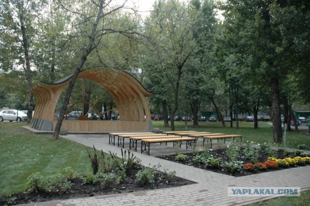 Район, в котором я живу. Немного Москвы