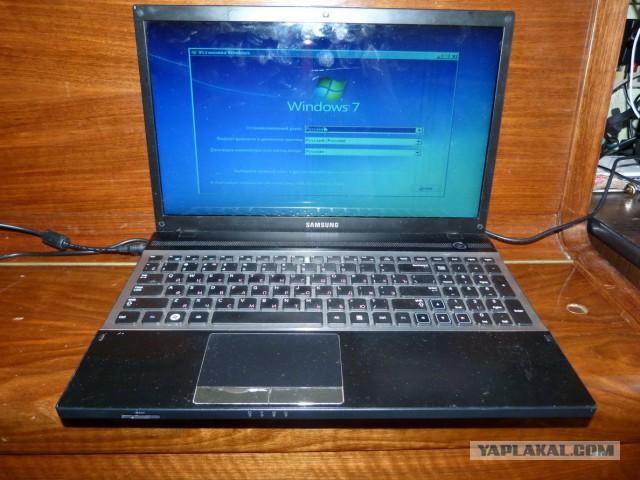"""Ноутбук Samsung NP300, """"полосит"""" матрица"""
