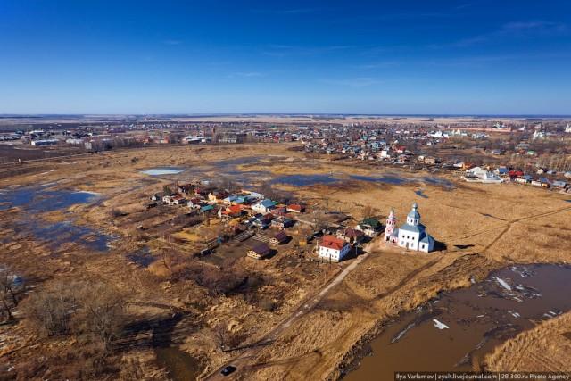 Владимирская область с высоты птичьего полета