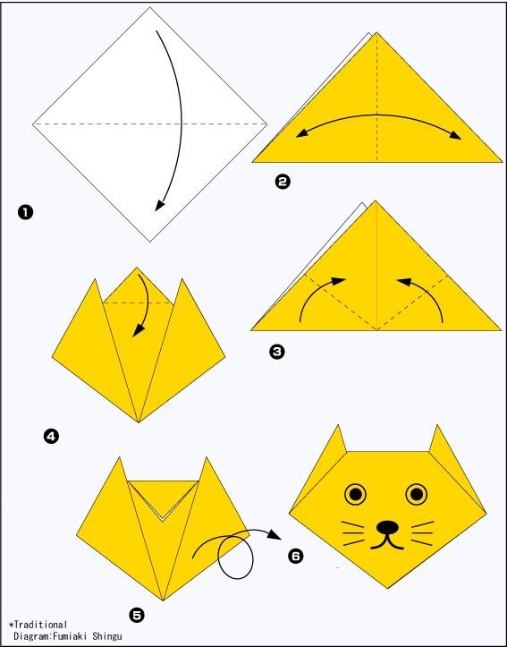 Легкие поделки из бумаги для начинающих