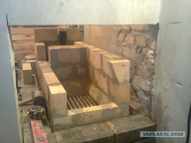 Дом в 200 м3: Баня. Печь