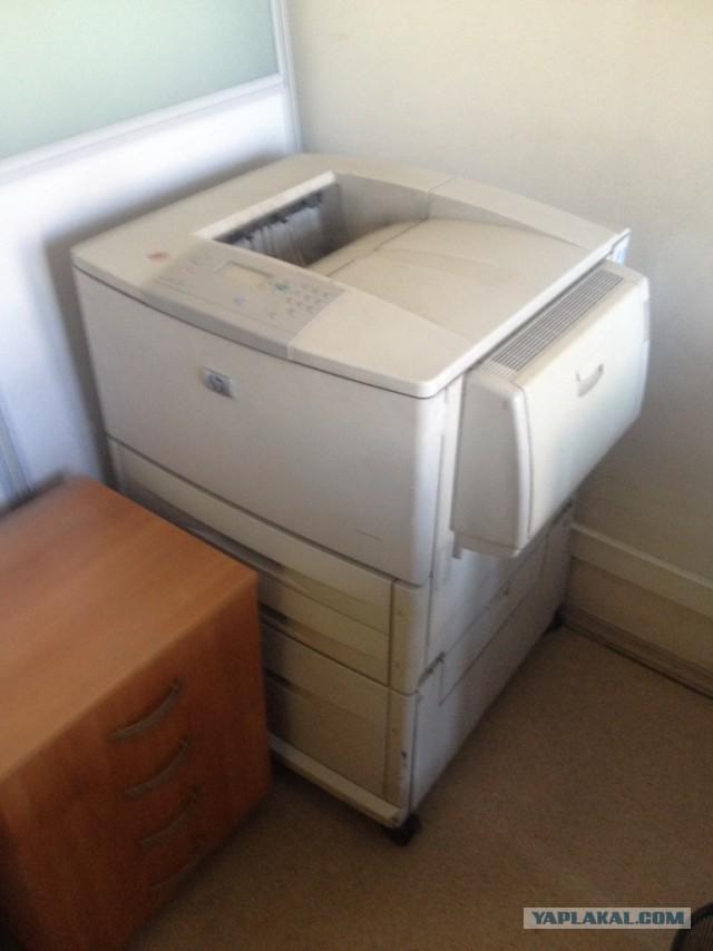 Отдам старые принтера A3 и копир