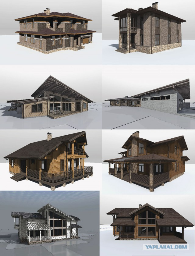 Проекты домиков
