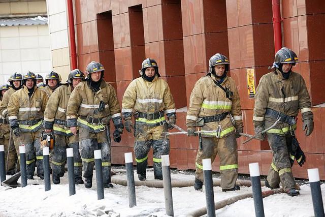 Доказательство от пожарного. Что показало Кемерово самим пожарным