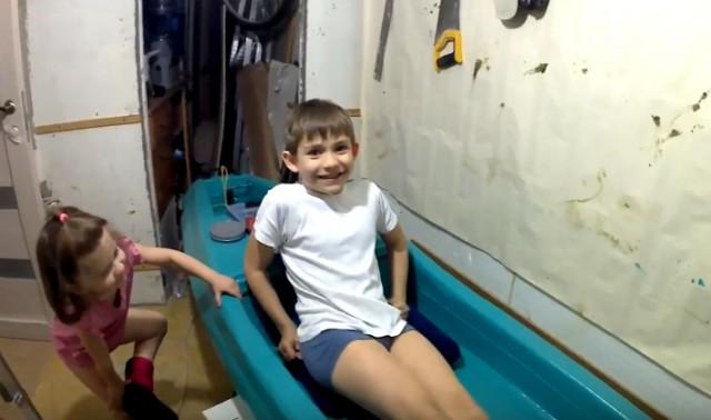 Как мы с сыном лодку пилили.