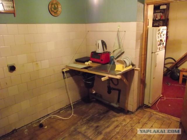Как я пол на кухне обновил