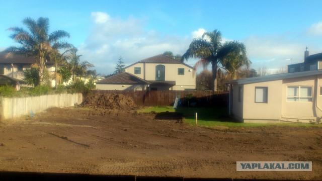 Как строят дома в Новой Зеландии (на примере соседа)