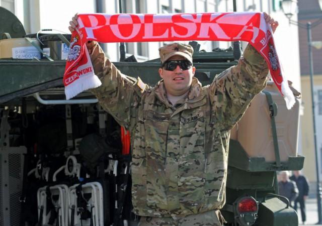 В Польше пьяные местные жители избили пьяных американских военных