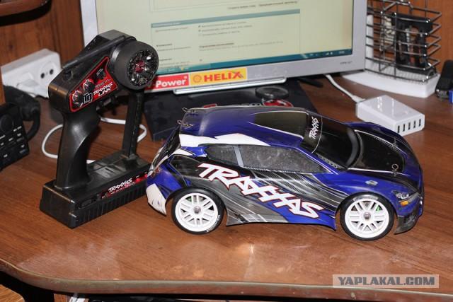 Модели RC р/у Traxxas Rally VXL 1/16 и Traxxas Rustler VXL