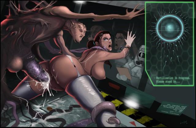 Порно фото космос
