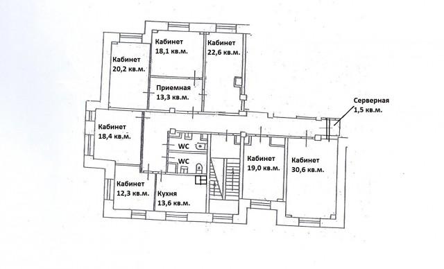 Офис 177 кв.м. в аренду от собственника