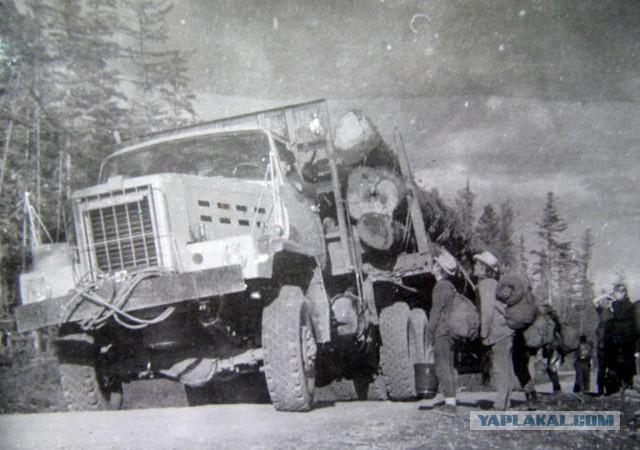 Транспортные картинки с Сахалина середины ХХ века