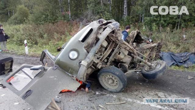 8 человек погибли в страшном ДТП под Екатеринбургом