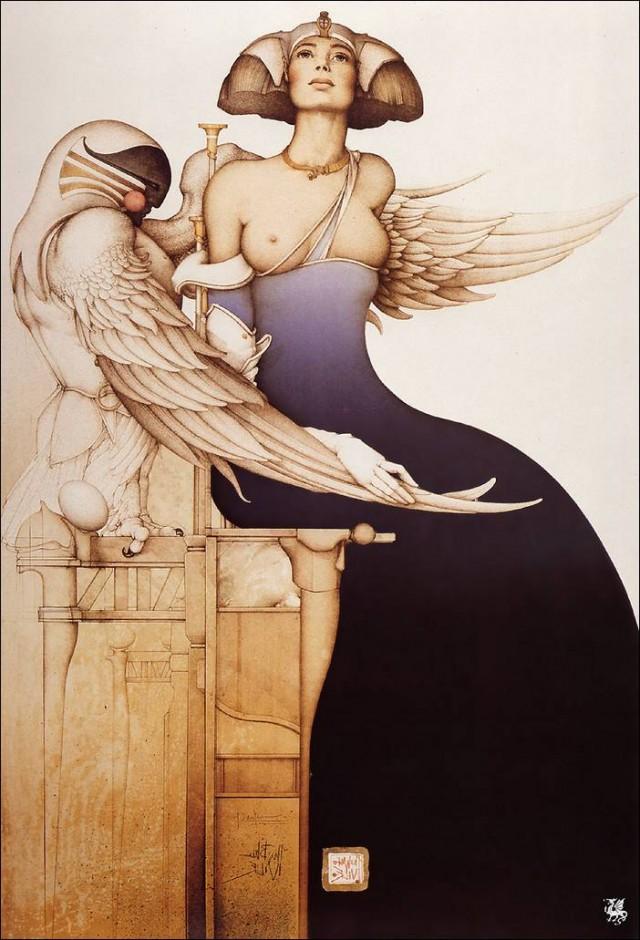 Красивая эротика в рисунках