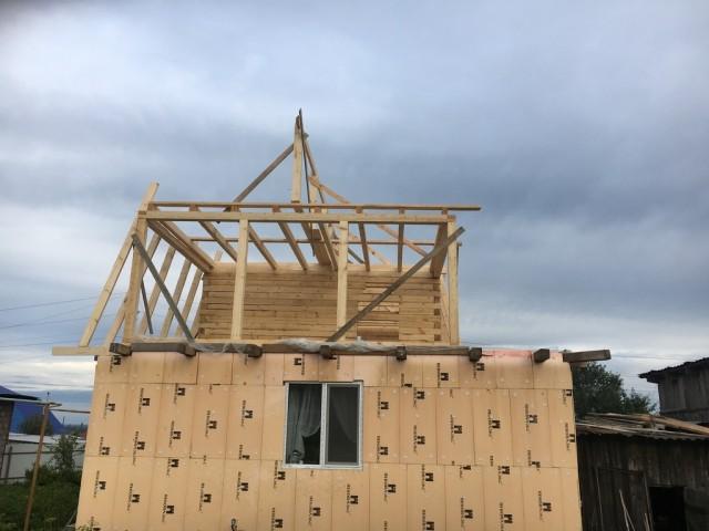 Как одна девочка решила дом построить