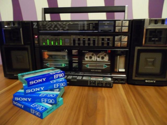 SONY EF90 немного истории