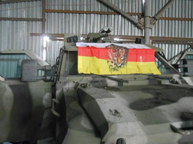 """Полк """"Азов"""" теряет технику."""