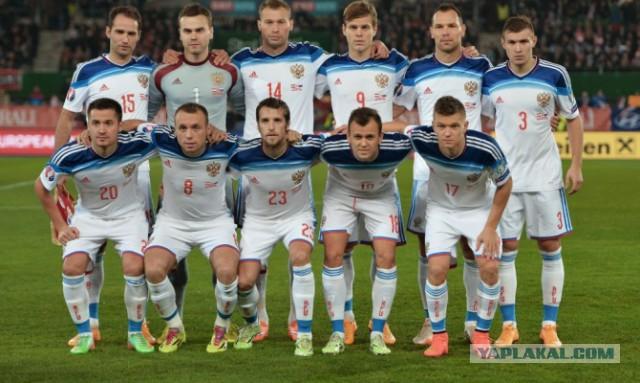 Худший результат 21 века Сборная РФ по футболу