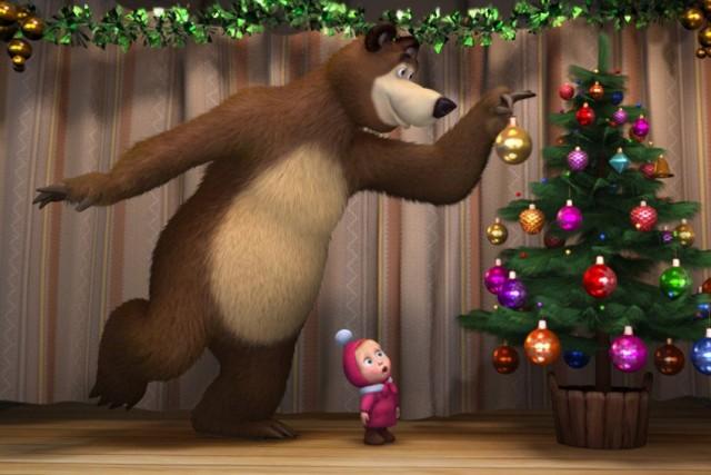 """Мультфильм """"Маша и Медведь"""" вошел в пятерку самых востребованных в мире"""