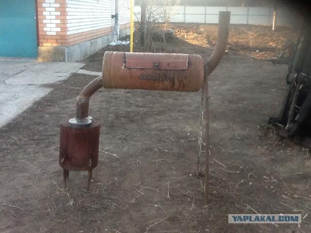 Коптильня своими руками с газовых баллонов