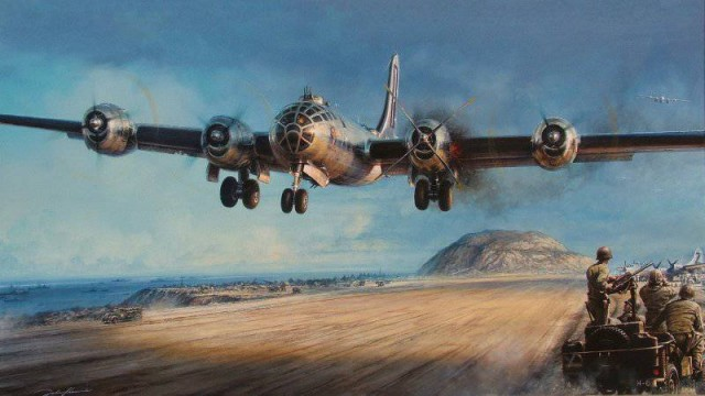 Испытано в СССР. Тяжелый дальний бомбардировщик Boeing B-29 Superfortress
