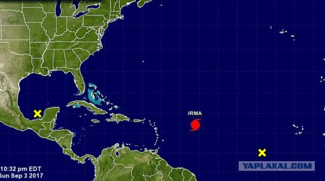 Ураган «Ирма» может достичь невероятной 5-й категории и обрушится на США