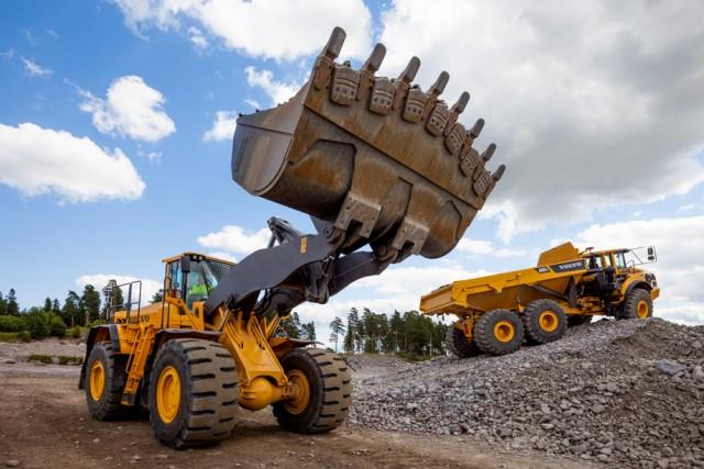 Полигон Volvo Construction Equipment в Швеции