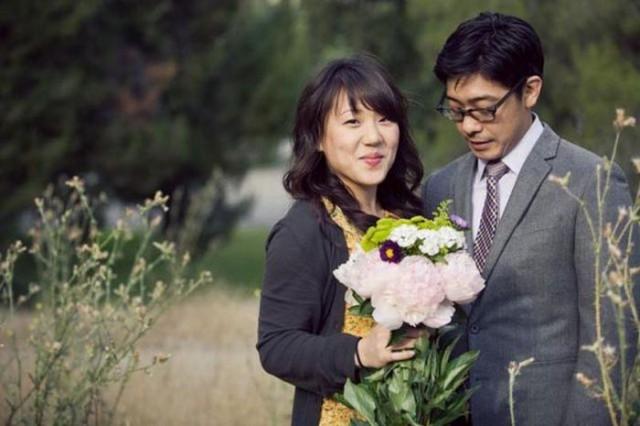 Очень романтичная свадебная фотосессия
