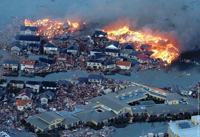 Землетрясение в Японии (фото, видео)