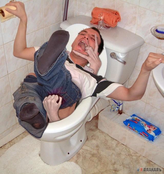 туалетах в как порятся