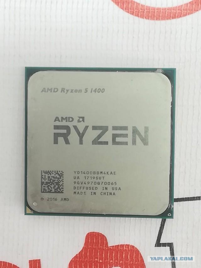 Продам Ryzen 5 1400