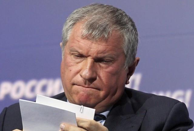 В Сети появилась петиция с требованием об отставке Сечина с поста главного исполнительного директора «Роснефти»