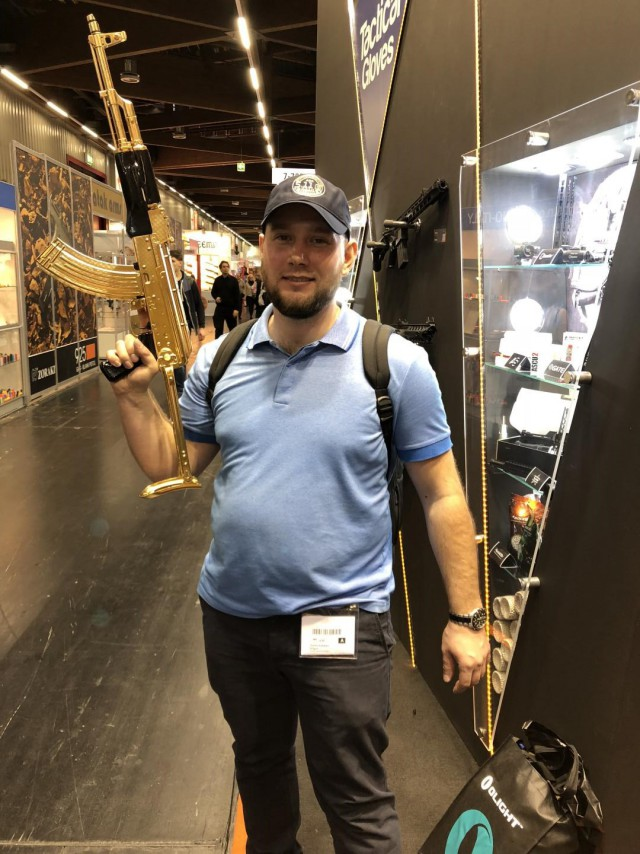 Поездка в Нюрнберг. Оружейная выставка IWA 2018