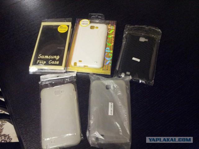 5 чехлов для Samsung GT-N7000 обмен-)