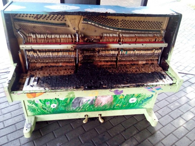Пьеса о сгоревшем пианино