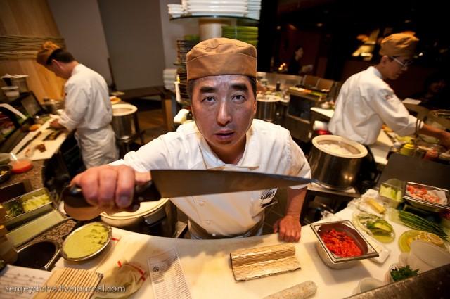 """Лучший суши-бар в Вегасе и ролл """"Радуга"""""""