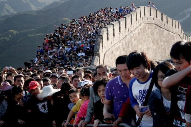 23 фотографии, показывающие, насколько многолюден Китай